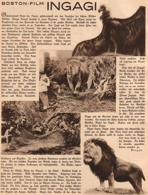 Ingagi INGAGI 1930original movie scans Page 4 Classic Horror Film