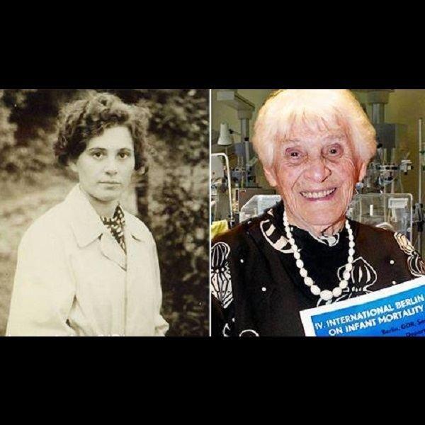 Ingeborg Rapoport 102yearold Ingeborg Rapoport receives doctorate 77 years