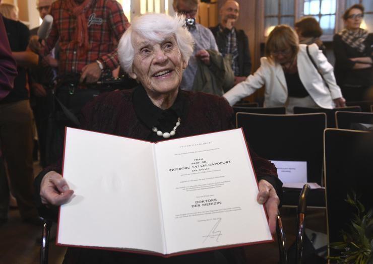 Ingeborg Rapoport Ingeborg SyllmRapoport 102YearOld German Woman