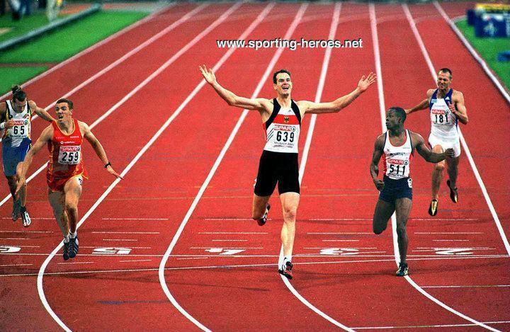 Ingo Schultz Ingo SCHULTZ 2002 European 400m Champion 2001 World Championship