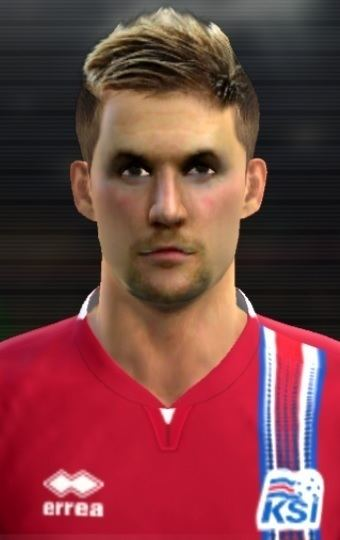 Ingvar Jónsson Ingvar Jonsson face for Pro Evolution Soccer PES 2013 made by Bobce
