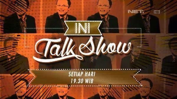 Ini Talkshow Ini Talkshow NET on Twitter quot RT netmediatama Biar gak