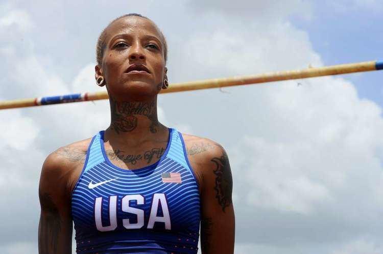 Inika McPherson Back on track Port Arthur Olympian Inika McPherson marked for