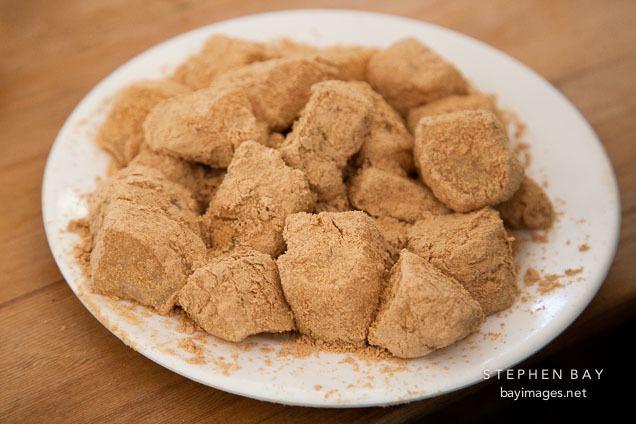 Injeolmi Photo Injeolmi is a popular type of tteok rice cake served in