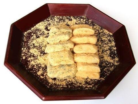 Injeolmi Injeolmi rice cake recipe Maangchicom