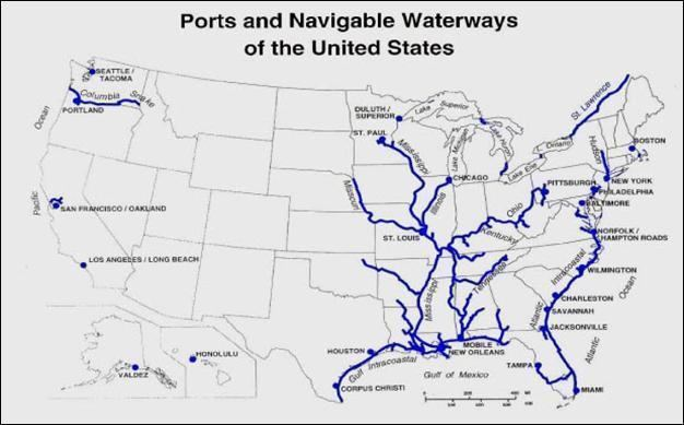 inland waterways of the united states building a faraday cage for emp disaster preparedness forms us