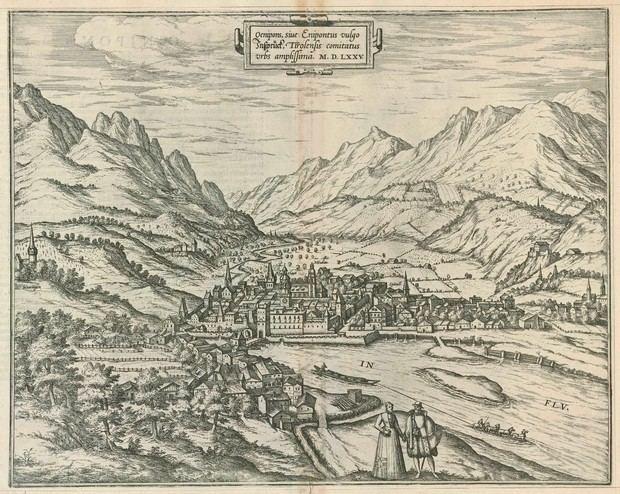 Innsbruck in the past, History of Innsbruck