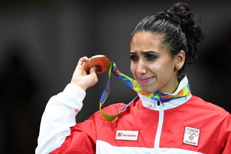 Inès Boubakri Rio Olympics Tunisia39s Ines Boubakri wins bronze in fencing Al Bawaba