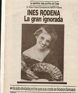 Inés Rodena Trayectoria de Ines Rodena