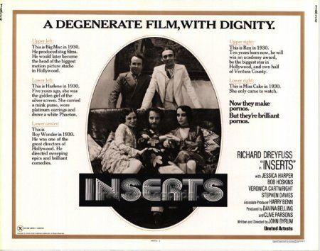 Inserts (film) REVIEW INSERTS 1975 STARRING RICHARD DREYFUSS TWILIGHT TIME