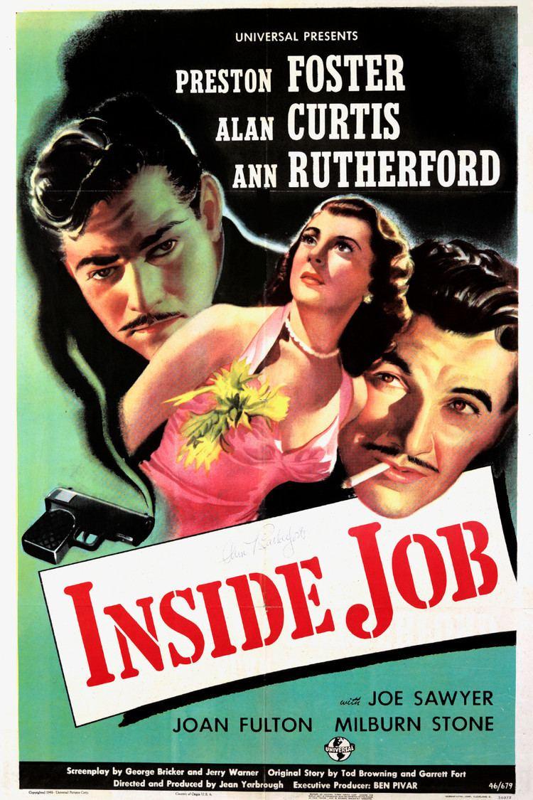Inside Job (1946 film) wwwgstaticcomtvthumbmovieposters8737129p873