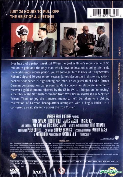 Inside Out (1975 film) YESASIA Inside Out 1975 DVD US Version DVD James Mason