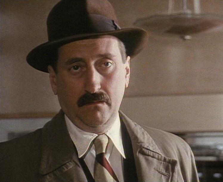 Inspector Japp Flammentanz Philip Jackson as Chief Inspector James Japp in