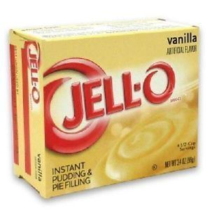 Instant pudding Jello Vanilla Instant Pudding ampamp Pie Filling Mix eBay