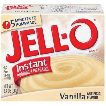 Instant pudding JellO Vanilla Instant Pudding amp Pie Filling 34 Oz Walmartcom