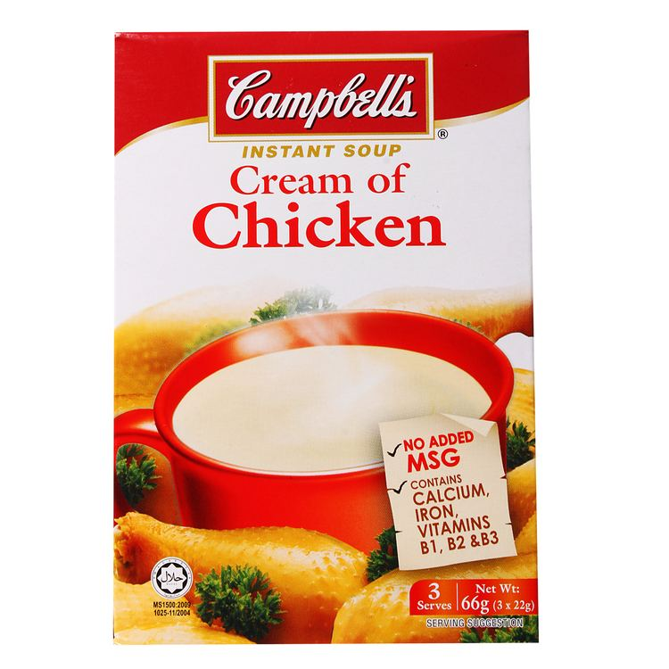 Instant soup Campbell39s Cream of Mushroom Instant Soup 211g from RedMart