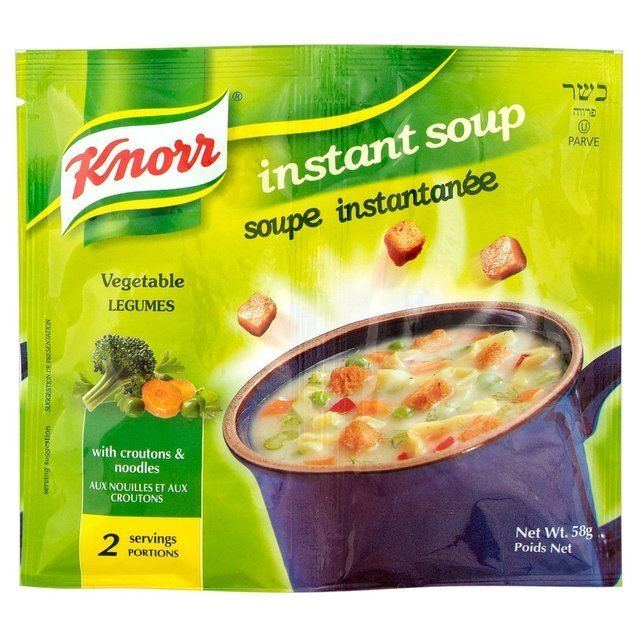 Instant soup Knorr instant Soup vegetable 58g from Ocado