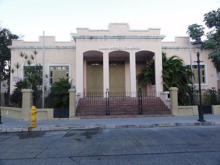 Instituto de Música Juan Morel Campos
