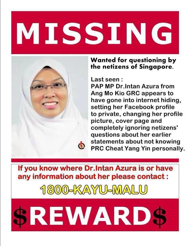 Intan Azura Mokhtar I Am Disappointed With PAP Muslim MP Dr Intan Azura Rilek1Cornercom