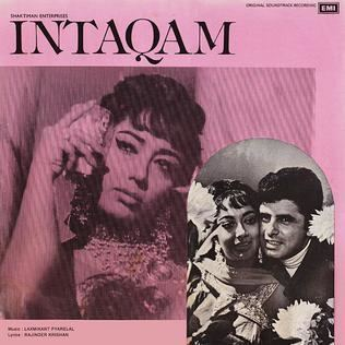 Intaqam movie poster