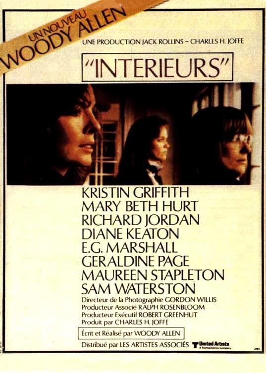 Interiors Movie Posters2038net Posters for movieid409 Interiors 1978