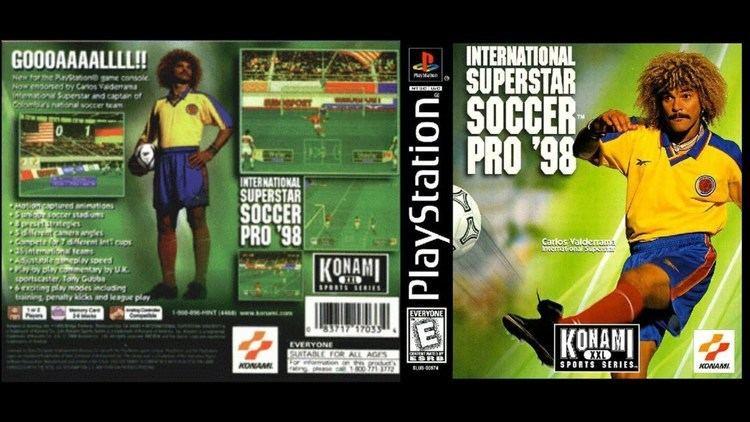 International Superstar Soccer Pro 98 PS1 International Superstar Soccer Pro 98 Gameplay ePSXe1080p