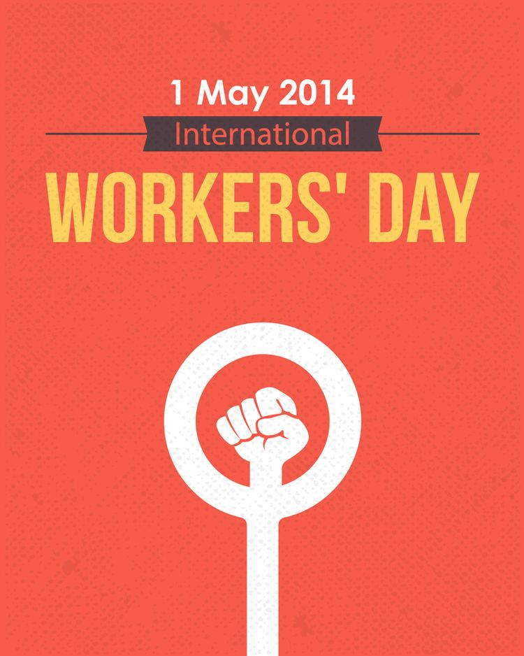 Holiday May 1st. International Day of Workers&#39