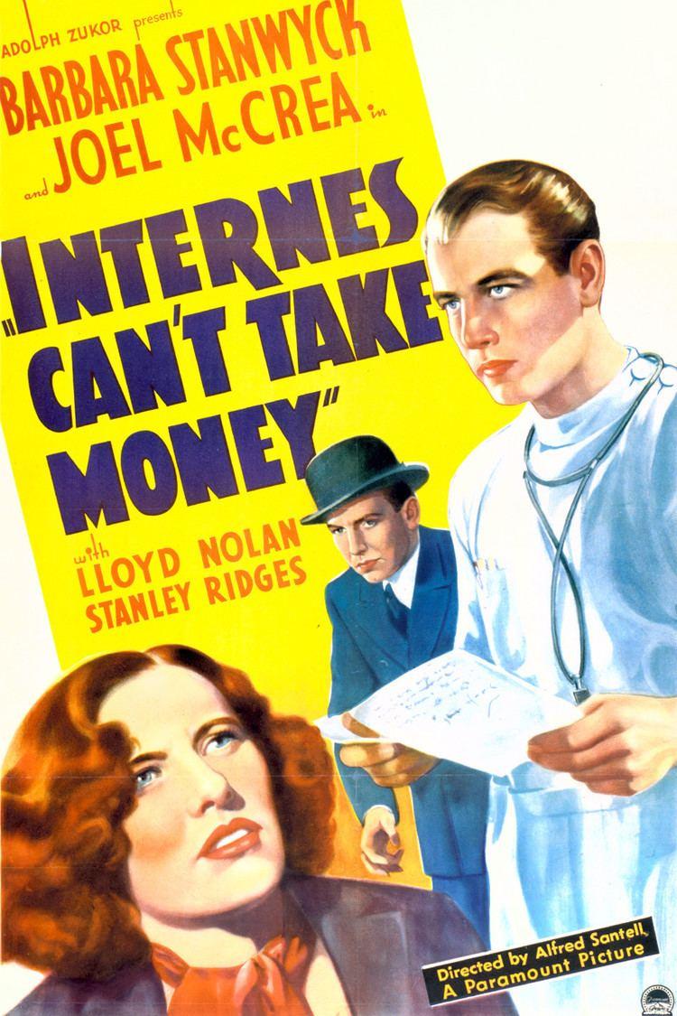 Internes Can't Take Money wwwgstaticcomtvthumbmovieposters44114p44114