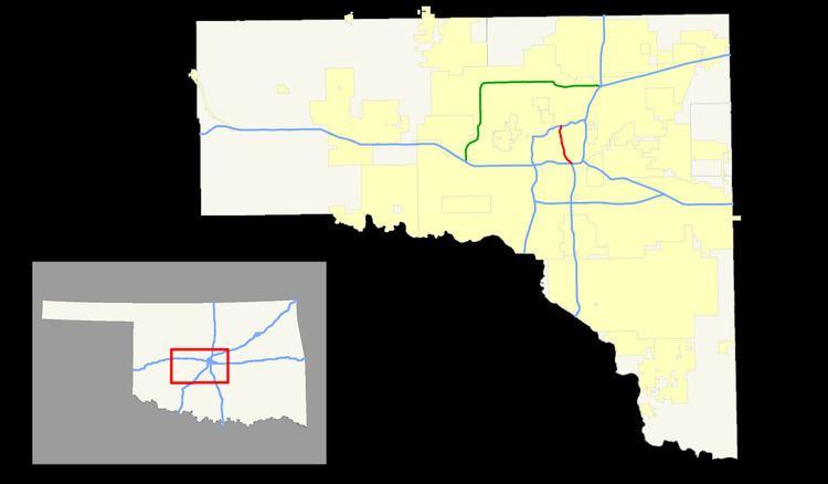 I 40 Oklahoma Map.Interstate 235 Oklahoma Alchetron The Free Social Encyclopedia