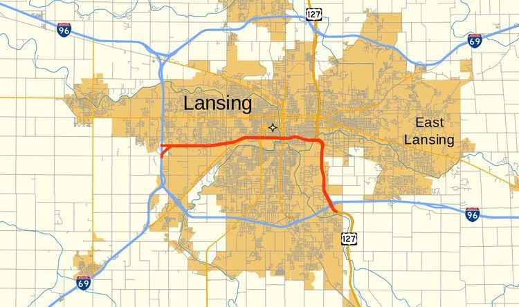 Interstate 496 Alchetron The Free Social Encyclopedia - Us-127-michigan-map
