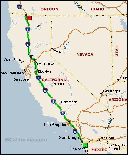 Map Of California Interstates.Interstate 5 Alchetron The Free Social Encyclopedia