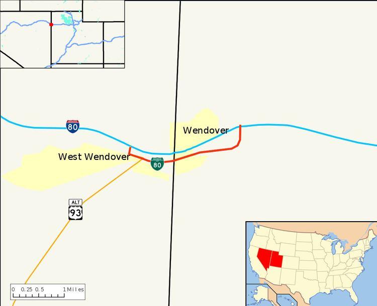 Interstate 80 Business (West Wendover, Nevada–Wendover, Utah)