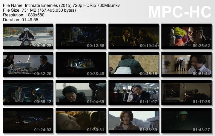 Intimate Enemies (2015 film) Download Intimate Enemies 2015 720p HDRip 700MB