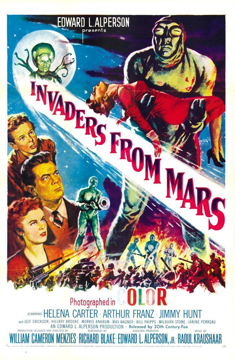 Invaders from Mars (1953 film) Invaders from Mars 1953 film Wikipedia