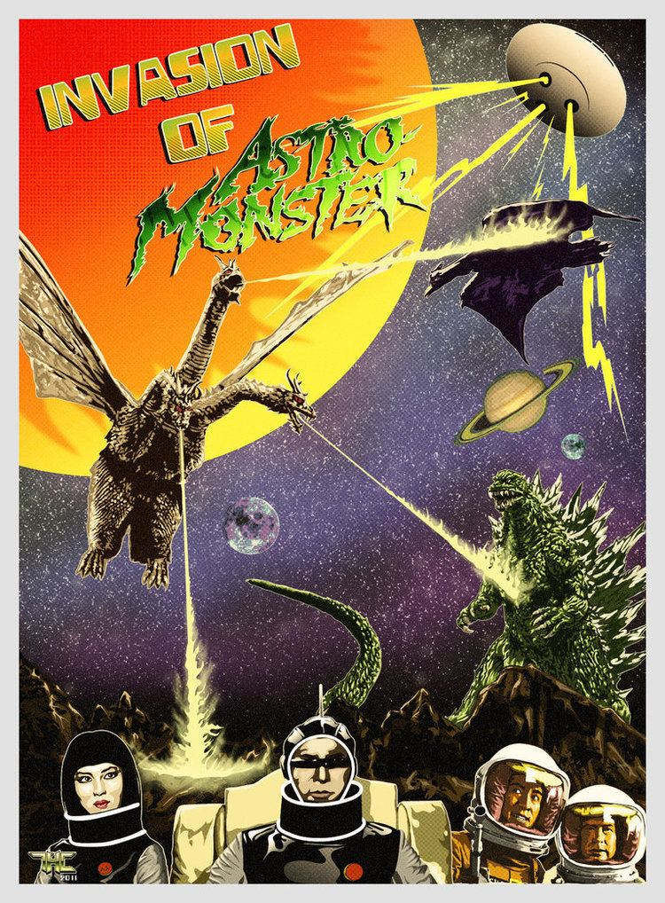 Invasion of Astro-Monster Invasion of AstroMonster by heathdro on DeviantArt