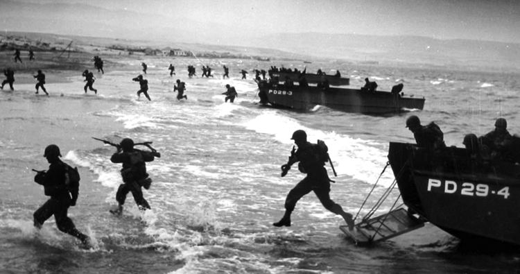 Invasion of Normandy Military Service