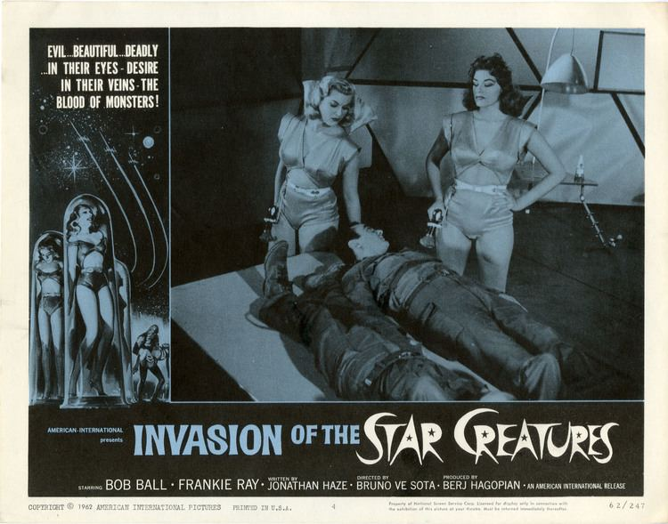 Invasion of the Star Creatures Bakers Log Oddball Film Report INVASION OF THE STAR CREATURES 1962