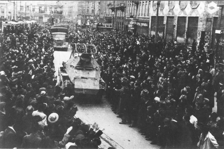 Invasion of Yugoslavia Zagreb 1941 Entry of German Troops Carl Savich