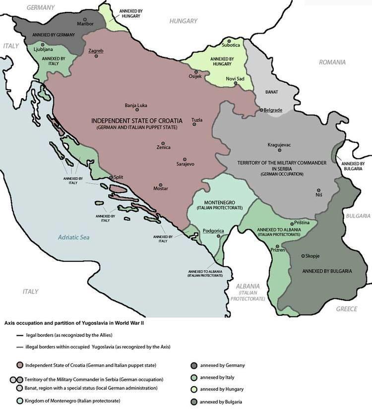 Invasion of Yugoslavia Invasion of Yugoslavia April 6 1941 Summary WWII German Attack