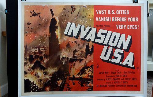 Invasion U.S.A. (1952 film) INVASION USA 1952 ON THE TEXAS 27 FILM VAULT Balladeers Blog