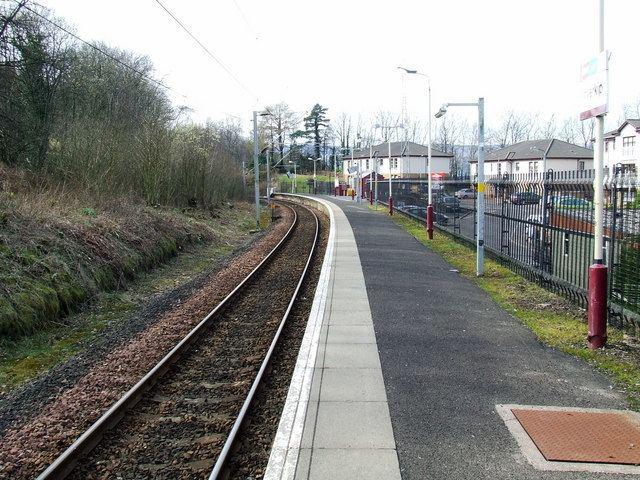 Inverkip railway station