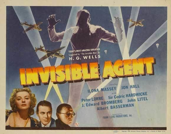 Invisible Agent The Invisible Agent 1942 The Visuals The Telltale Mind