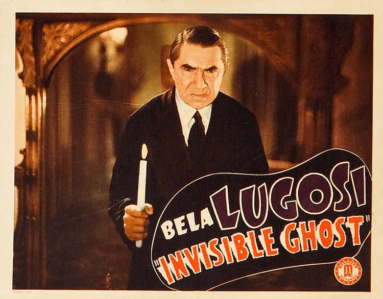 Invisible Ghost Invisible Ghost Astor Pictures Corp 1941 The Bela Lugosi Blog