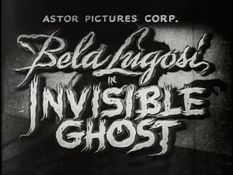 Invisible Ghost Invisible Ghost 1941 Horror Thriller YouTube