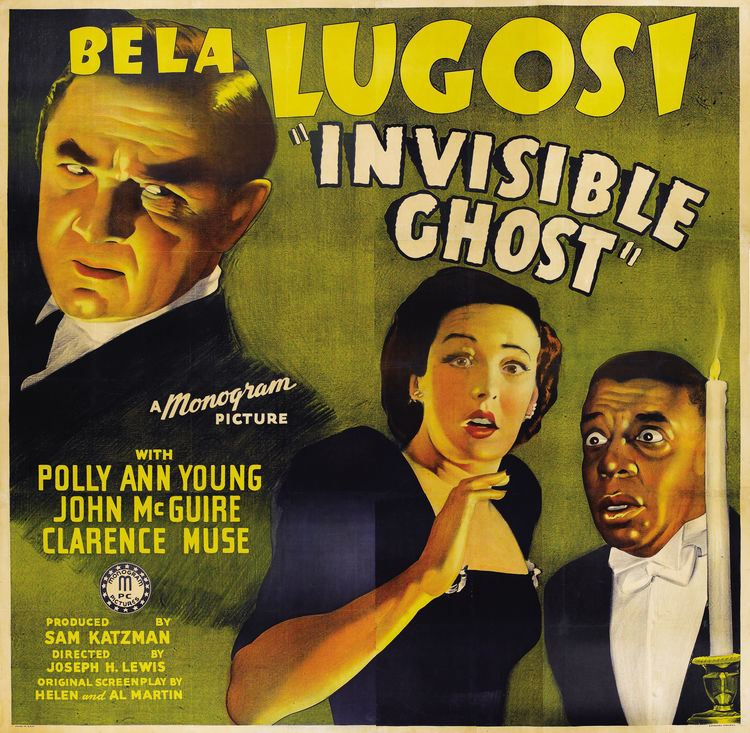 Invisible Ghost InvisibleGhostwidelarge Black Horror Movies