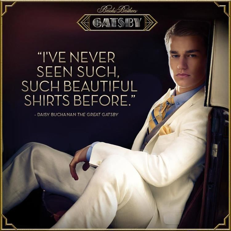 Invites Surprises movie scenes The full Daisy Buchanan quote is actually It makes me sad because I ve never seen such such beautiful shirts before She says it during one of the