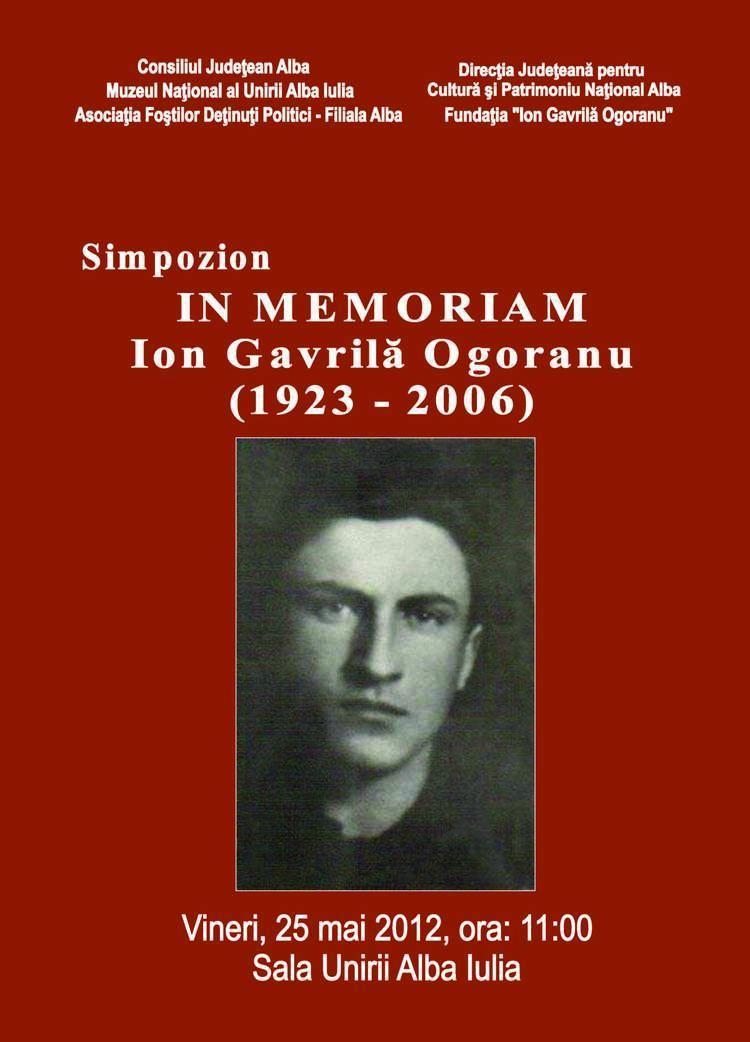 Ion Gavrilă Ogoranu In memoriamIon Gavril Ogoranu Buciumul Publicaie de