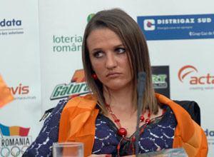 Ionela Târlea Ionela Tarlea plange de nervi si durere din cauza accidentarii