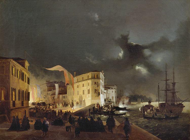 Ippolito Caffi Canal Grande di Venezia Catalogo illustrato Ippolito