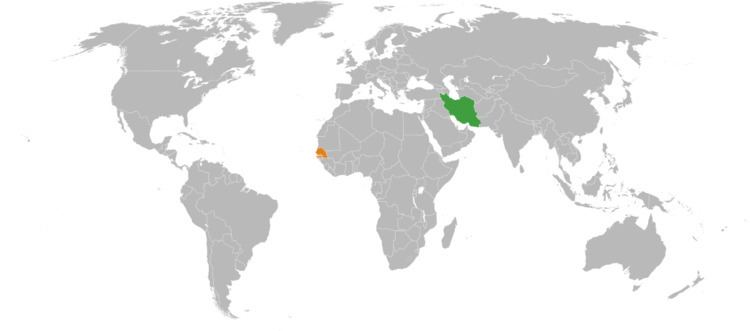 Iran–Senegal relations